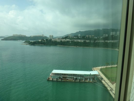 Auberge Discovery Bay Hong Kong: View from room window