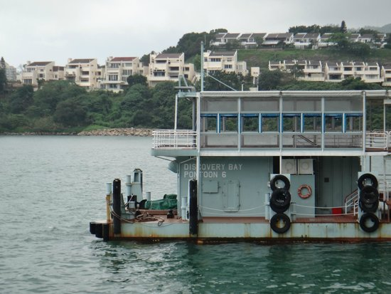 Auberge Discovery Bay Hong Kong: Dock for ferry