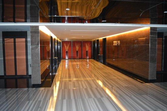 Swiss International Hotel Xiamen: hallway