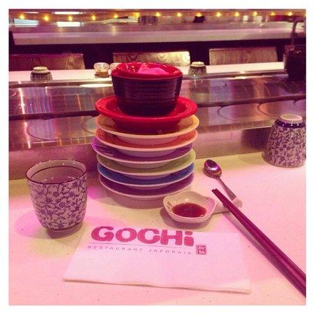 GoCHI Restaurant: Notre table Gochi dardilly