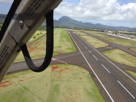 Jack Harter Helicopters - Tours : Handle and runway