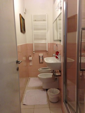 Sweet Home Parioli: Private bathroom