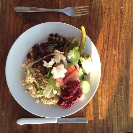 Yoga Rocks - Retreat to Triopetra : What a plate of Food