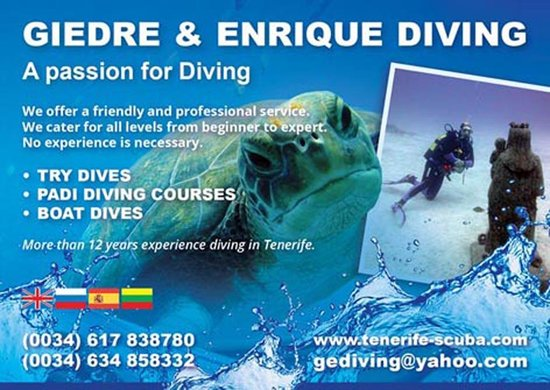 Giedre & Enrique Diving