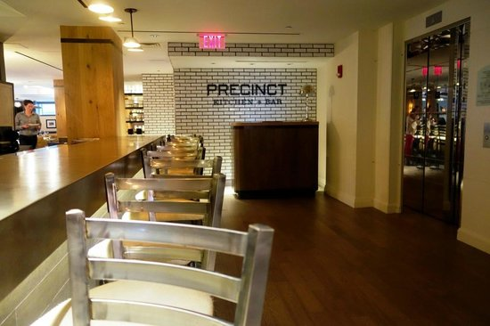 Precinct Kitchen Bar Boston Ma