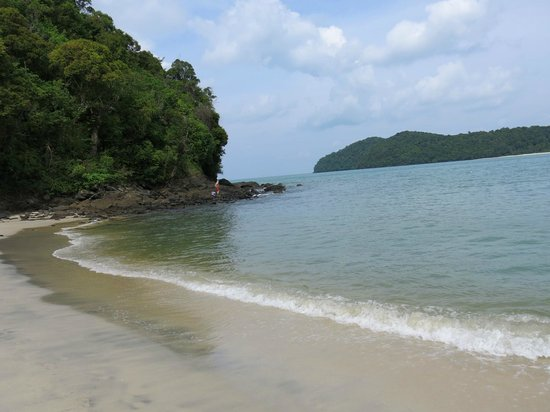 The Lanai Langkawi Beach Resort: The Beach......The Andaman Sea