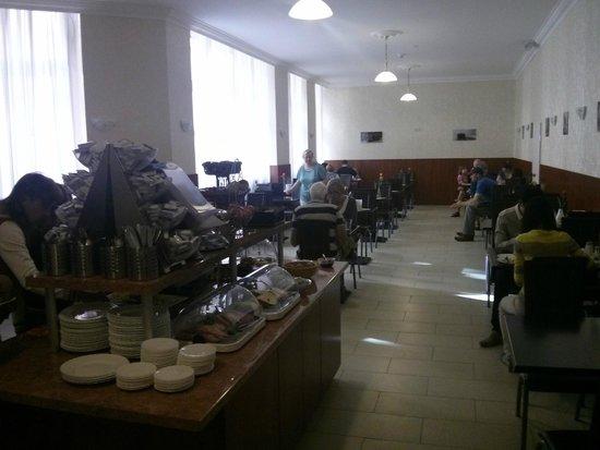 LebensQuelle Hotel : Завтрак