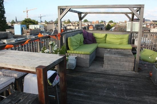 Bed & Breakfast Helmers : The roof terrace
