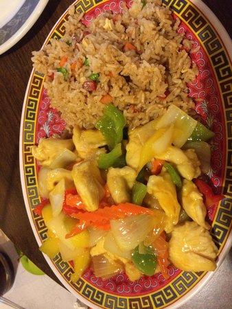 Szechuan Restaurant : Mango Chicken.