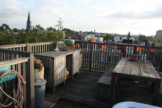 Bed & Breakfast Helmers: The roof terrace