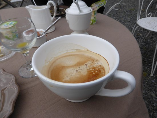 Chateau de Ronel: That is what I call a coffee!