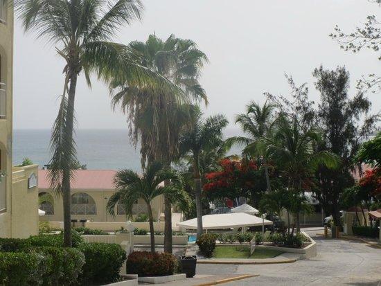 Simpson Bay Resort & Marina: ocean view