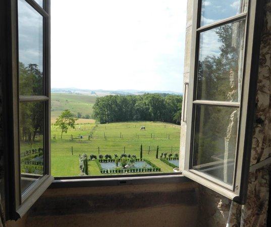 Chateau de Ronel: The view from the window