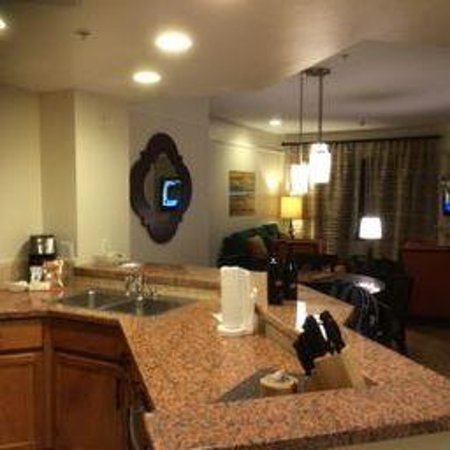 Marriott's Shadow Ridge I-The Villages: Living area