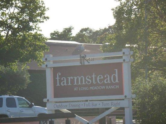 Farmstead at Long Meadow Ranch: Farmstead