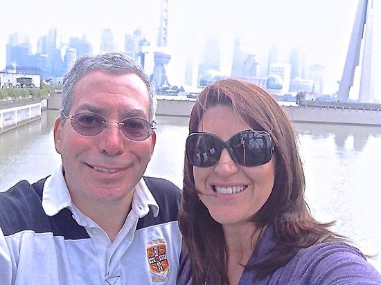Hyatt on the Bund: Larry and Lisa