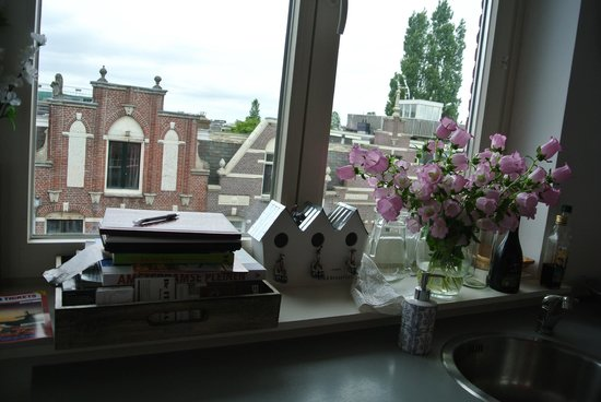 Bed & Breakfast Helmers: View from the kitchen