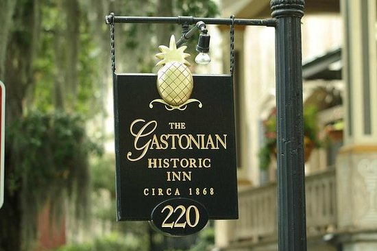 The Gastonian - A Boutique Inn : Signage