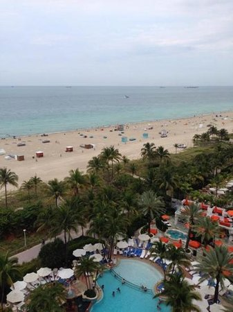 Loews Miami Beach Hotel: view from our room suite