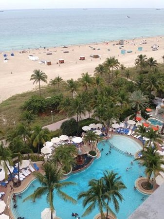 Loews Miami Beach Hotel: beach & pool