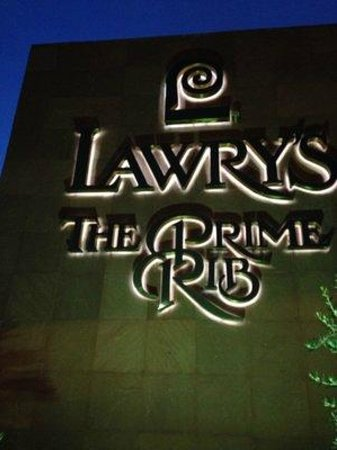 Lawry's The Prime Rib: Store Front