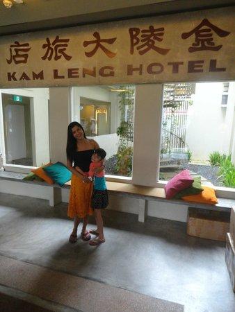 Kam Leng Hotel: Entrance