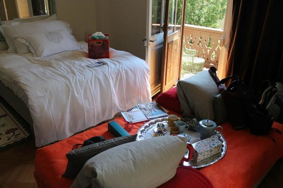 Hotel le Chalet: inside the room