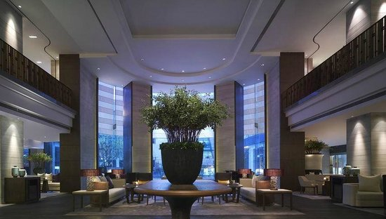 New World Shanghai Hotel : 心地いいHotel Lounge!