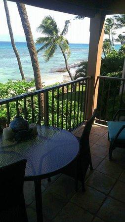 Kaleialoha Condominiums: view from #315