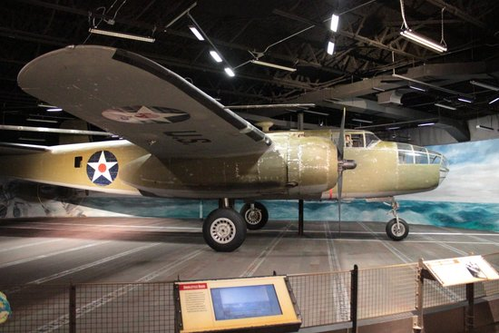 National Museum of the Pacific War: B-25 medium bomber