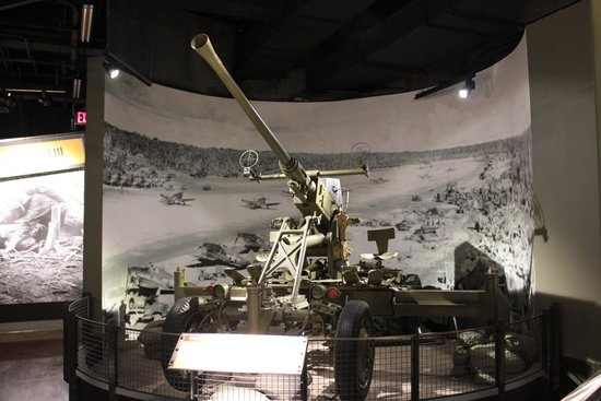 National Museum of the Pacific War: anti aircraft battery