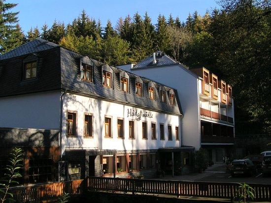 Heidsmuhle: Het hotel.