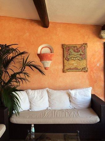Grand Hotel in Porto Cervo: Entrada