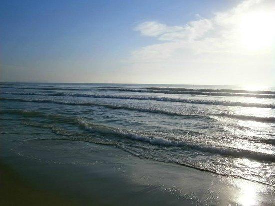 La Marina Camping & Resort: Playa de La Marina...a primera hora de la mañana