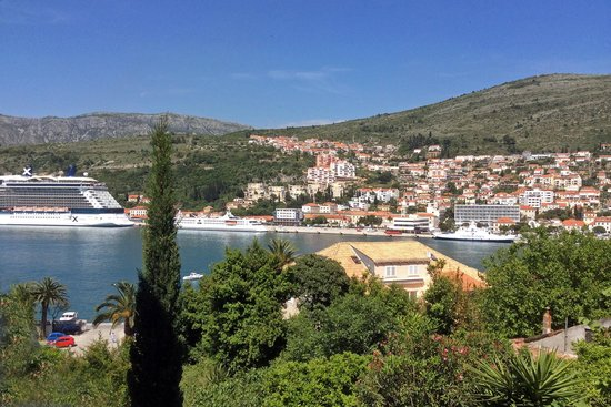 Hotel Lapad: View from room 718