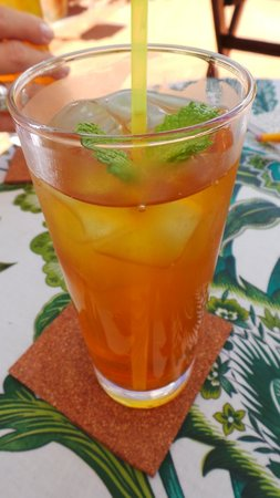 Albergaria do Calvario: Best Ice Tea with Lemonade
