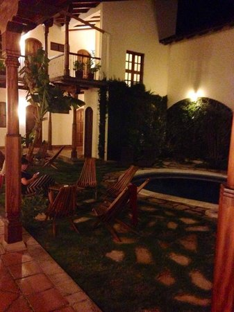 Hotel Patio del Malinche : Evenings are perfect! So many intimate areas to gather
