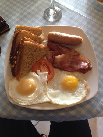 Flametree Guesthouse : The breakfast