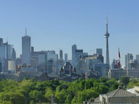 Park Hyatt Toronto: view from room