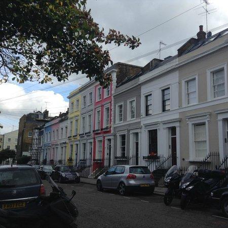 Portobello Road Market: It's a lovely neighbourhood!