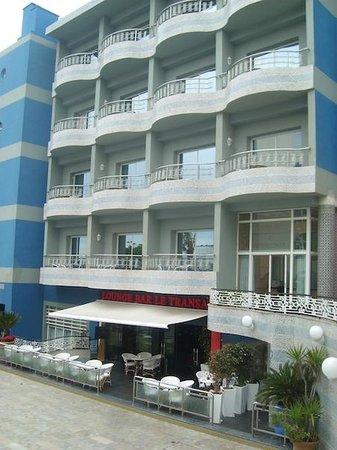 Club Val d'Anfa Hotel: Hotel Val d'Anfa, bar y restaurante
