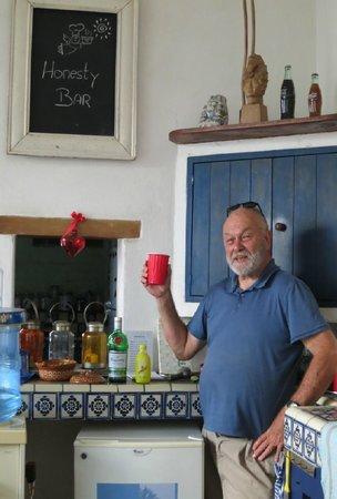 El Angel Azul Hacienda: Our Honesty Bar