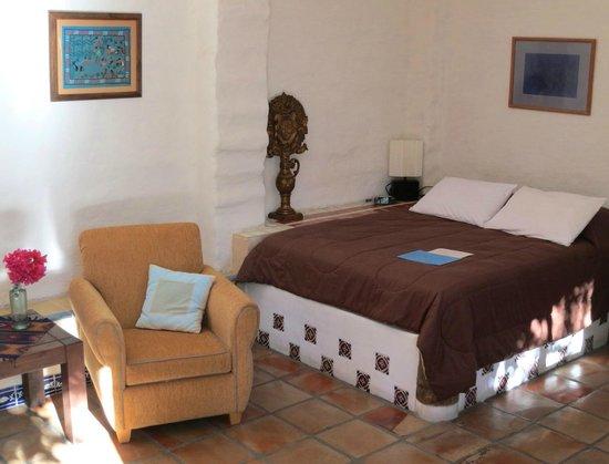 El Angel Azul Hacienda: Double room