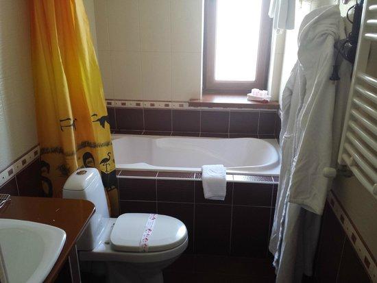 Art-Rustic Boutique Hotel: Bathroom