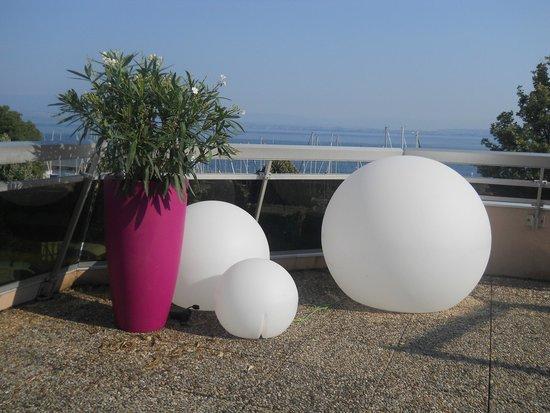 VVF Villages Evian : sur la terrasse