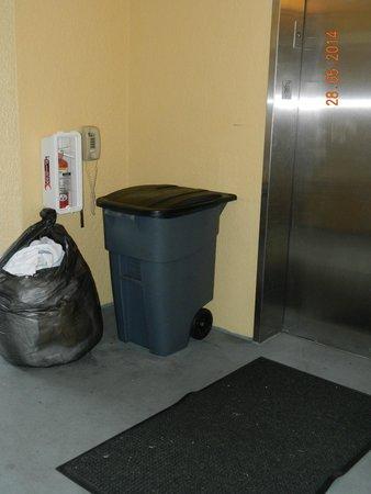 WorldQuest Orlando Resort: Lixo sobrando