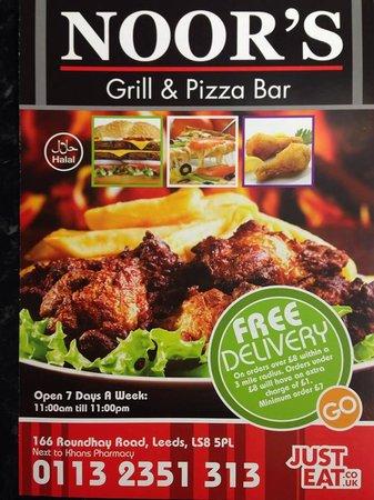 Noor's Grill & Pizza Bar Ltd