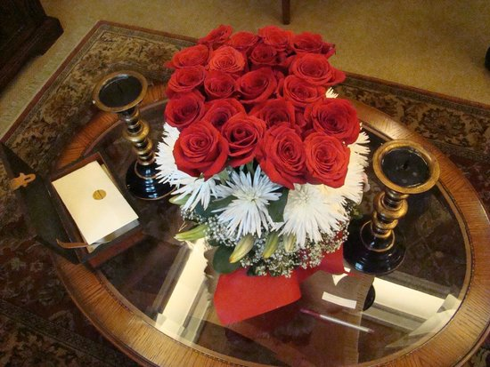 Hotel Plaza Grande : Flowers to pamper you