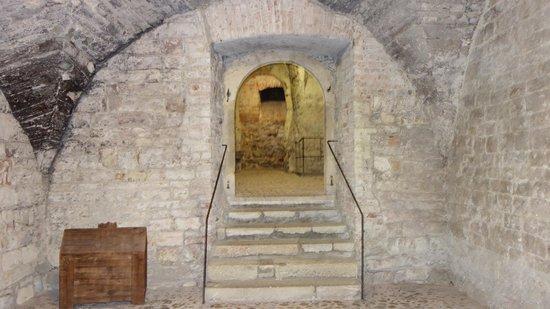 Prague Underground Tours: under the clock tower
