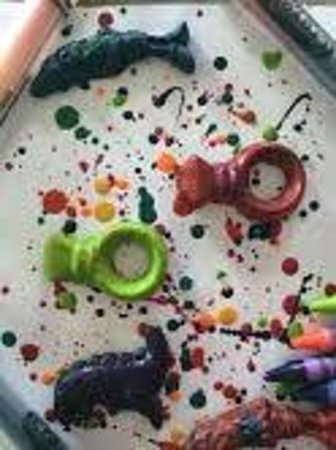 Crayola Experience : Goodies we created at our visit